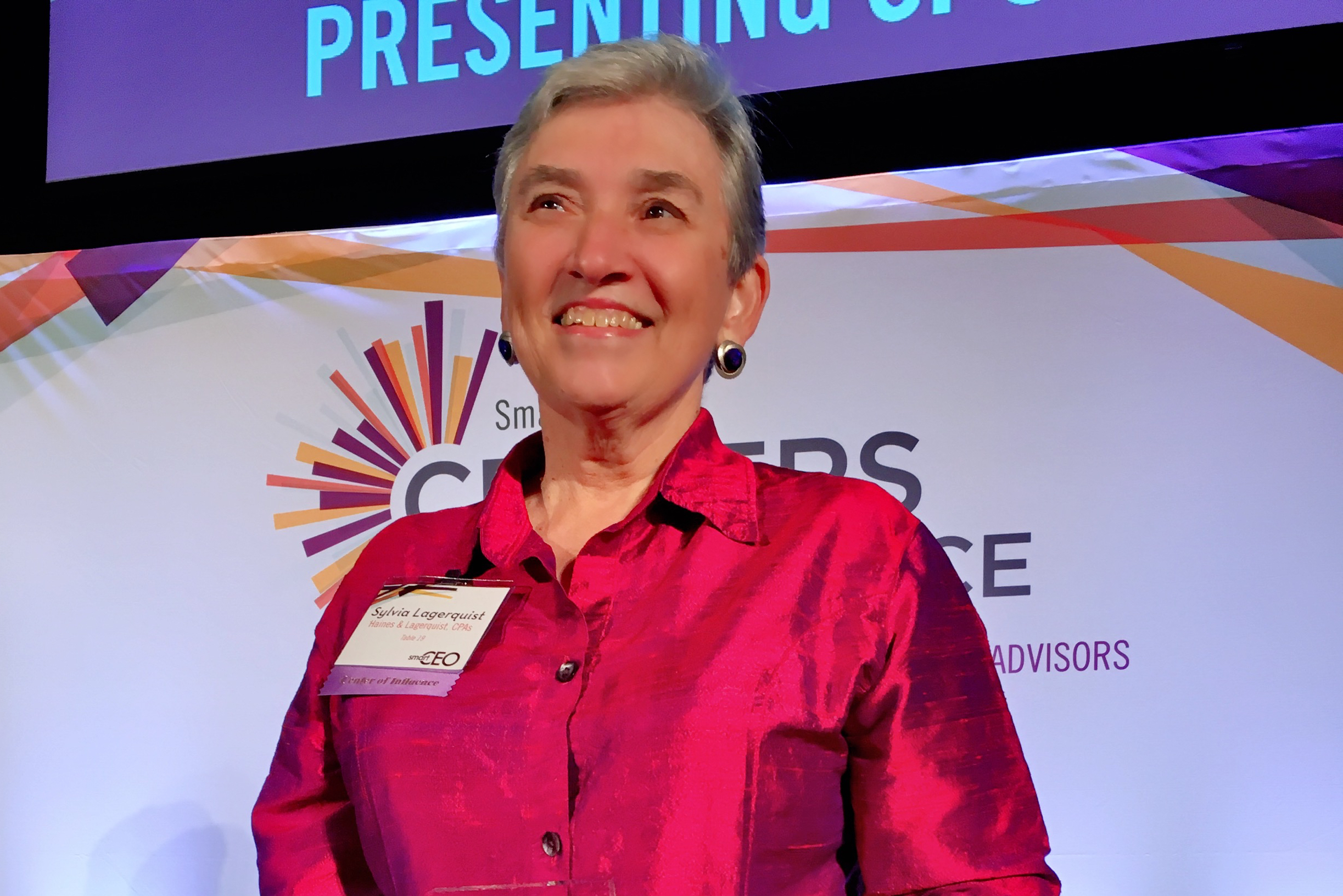 Sylvia Lagerquist Selected as a Winner for 2016 Centers of Influence Awards